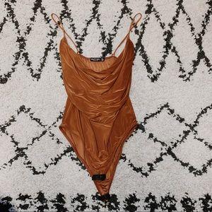Nasty gal Rust Orange Bodysuit